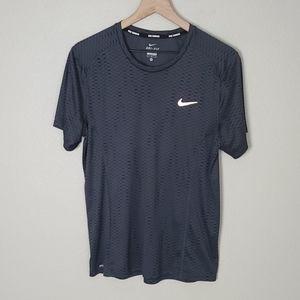 Nike Mens Running Dri Fit Shortsleeve Tee Shirt